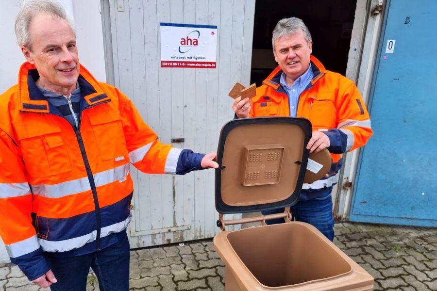 Tausende Biotonnen in Hannover mit optionalem Bio-Filterdeckel