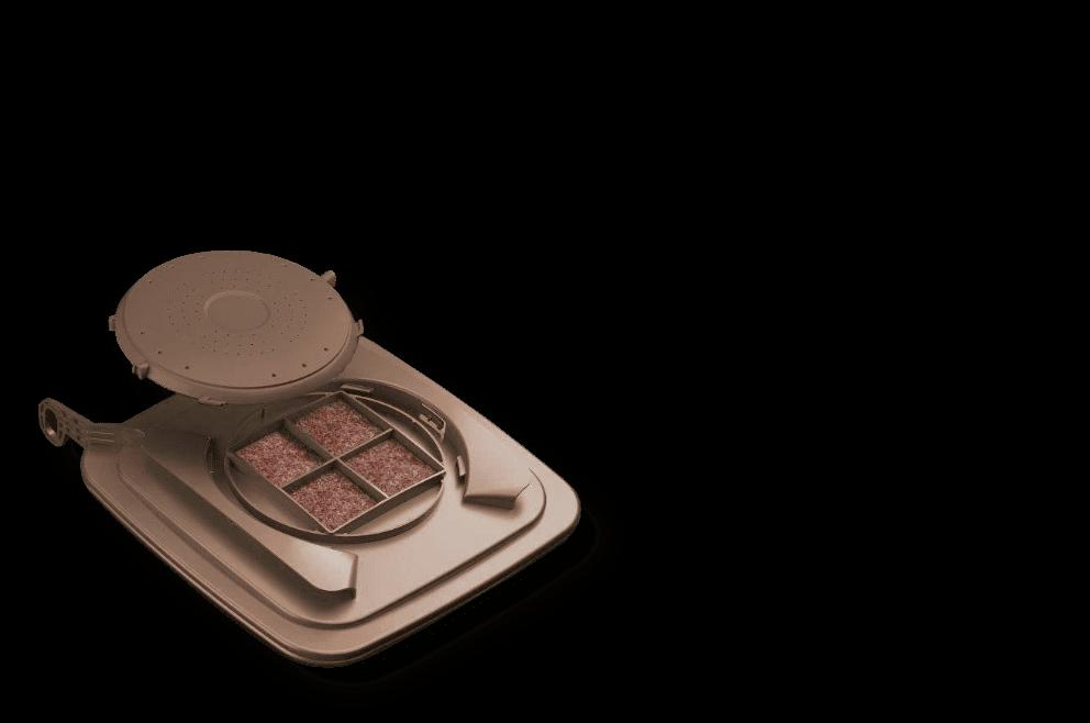 Bio-Filterdeckel