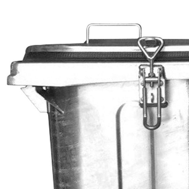 Müllcontainer mit Klemmverschluss