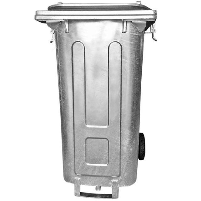 Müllcontainer mit Ölablassstutzen