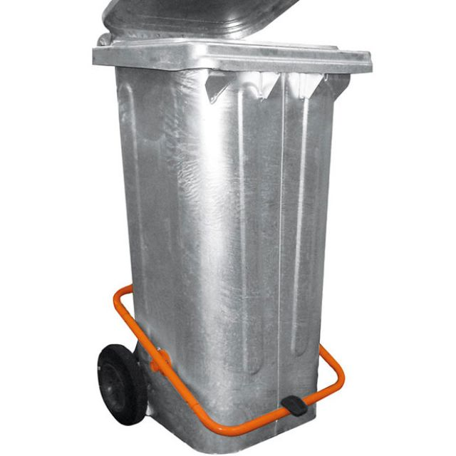 Müllcontainer mit Tretvorrichtung